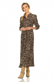Sofie Schnoor |  Leopard printed maxi dress Lula | animal print  | Picture 4