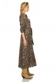 Sofie Schnoor | Maxi jurk met luipaardprint Lula | dierenprint  | Afbeelding 5