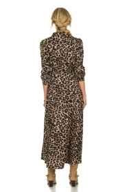 Sofie Schnoor | Maxi jurk met luipaardprint Lula | dierenprint  | Afbeelding 6