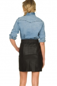 Sofie Schnoor |  Denim blouse Silke | blue  | Picture 6
