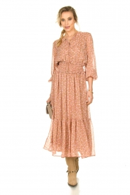 Sofie Schnoor |  Printed maxi dress Vinnie | pink  | Picture 3