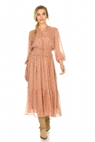 Sofie Schnoor |  Printed maxi dress Vinnie | pink  | Picture 4