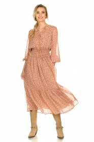 Sofie Schnoor |  Printed maxi dress Vinnie | pink  | Picture 2