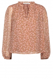 Sofie Schnoor |  Floral blouse Vilma | pink  | Picture 1