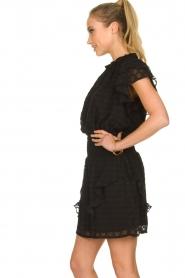 Sofie Schnoor |  Ruffle skirt Ulrikka | black  | Picture 4
