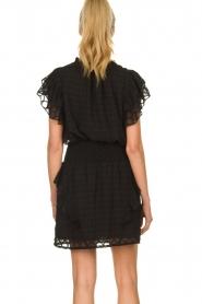 Sofie Schnoor |  Ruffle skirt Ulrikka | black  | Picture 5