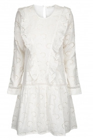 Sofie Schnoor |  Embroidered dress Rosetta | white  | Picture 1