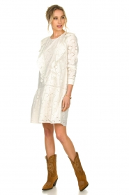 Sofie Schnoor |  Embroidered dress Rosetta | white  | Picture 6