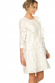 Sofie Schnoor |  Embroidered dress Rosetta | white  | Picture 4