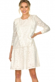Sofie Schnoor |  Embroidered dress Rosetta | white  | Picture 2