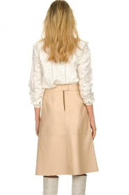Sofie Schnoor |  Embroidered blouse Rose | white  | Picture 5