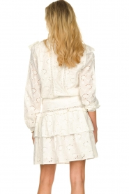 Sofie Schnoor |  Embroidered skirt Rosemarie | white  | Picture 5