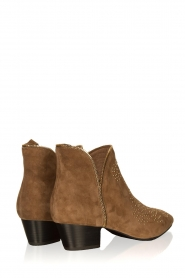 Sofie Schnoor |  Suede studded ankle boots Vally | beige  | Picture 4