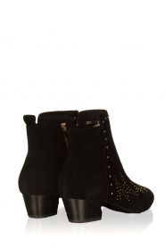 Sofie Schnoor |  Suede studded ankle boots Vally | black  | Picture 5