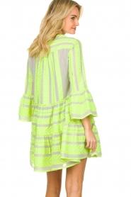 Devotion |  Cotton print dress Georgina | yellow  | Picture 5