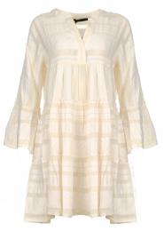 Devotion |  Cotton print dress Georgina | natural  | Picture 1