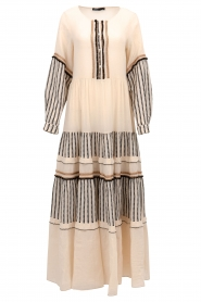 Devotion |  Cotton maxi dress Lizzy | off-white  | Picture 1