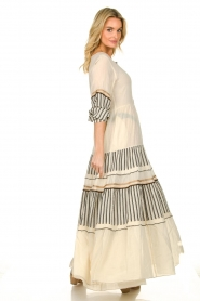 Devotion |  Cotton maxi dress Lizzy | off-white  | Picture 5