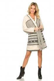 Devotion |  Cotton print dress Jamilla | off-white  | Picture 3