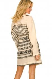 Devotion |  Cotton print dress Jamilla | off-white  | Picture 6
