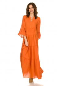 Devotion |  Maxi dress Christy | burned orange  | Picture 2