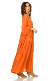 Devotion |  Maxi dress Christy | burned orange  | Picture 4