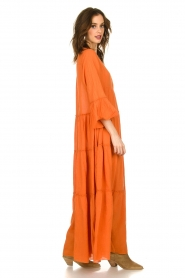 Devotion |  Maxi dress Christy | burned orange  | Picture 3