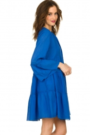 Devotion |  Cotton dress Rosaline | blue  | Picture 5