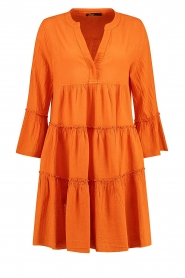 Devotion |  Cotton dress Rosaline | orange  | Picture 1