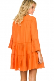 Devotion |  Cotton dress Rosaline | orange  | Picture 7