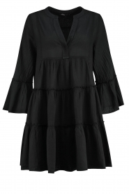 Devotion |  Cotton dress Rosaline | black  | Picture 1
