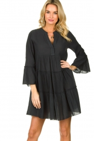 Devotion |  Cotton dress Rosaline | black  | Picture 2