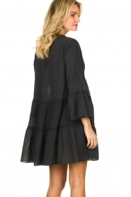 Devotion |  Cotton dress Rosaline | black  | Picture 5