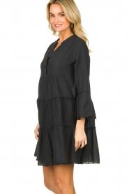 Devotion |  Cotton dress Rosaline | black  | Picture 4