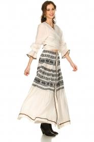 Devotion |  Cotton maxi skirt Coss | natural   | Picture 3