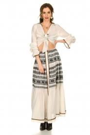 Devotion |  Cotton maxi skirt Coss | natural   | Picture 2