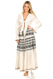 Devotion |  Cotton printed maxi skirt Coss | natural   | Picture 2