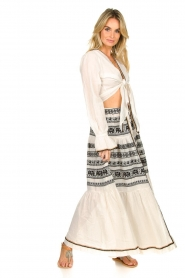 Devotion |  Cotton printed maxi skirt Coss | natural   | Picture 3