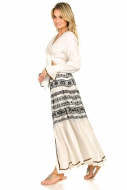Devotion |  Cotton printed maxi skirt Coss | natural   | Picture 4
