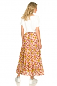 Sundress |  Maxi print skirt Ruby | red  | Picture 6