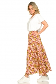 Sundress | Maxi rok met print Ruby | rood  | Afbeelding 5