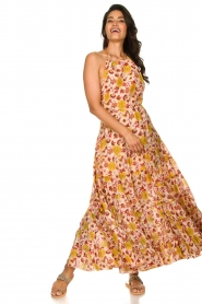 Sundress |  Printed maxi dress Neptune | pink  | Picture 5