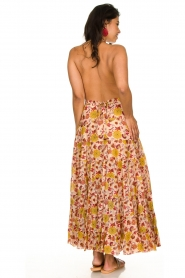 Sundress |  Printed maxi dress Neptune | pink  | Picture 6