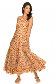 Sundress |  Printed maxi dress Neptune | pink  | Picture 4