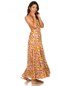 Sundress |  Printed maxi dress Neptune | pink  | Picture 3