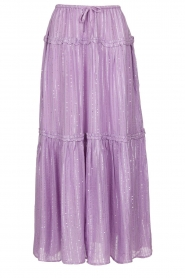 Sundress    Maxi skirt with sequins Noa   pink    Picture 1
