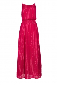 Sundress |  Lurex sequin dress Lauriana | pink