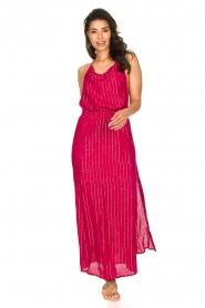Sundress |  Lurex sequin dress Lauriana | pink  | Picture 2