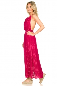 Sundress |  Lurex sequin dress Lauriana | pink  | Picture 5