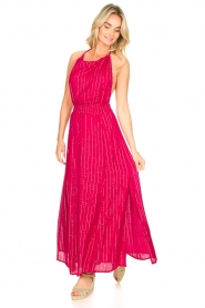 Sundress |  Lurex sequin dress Lauriana | pink  | Picture 4